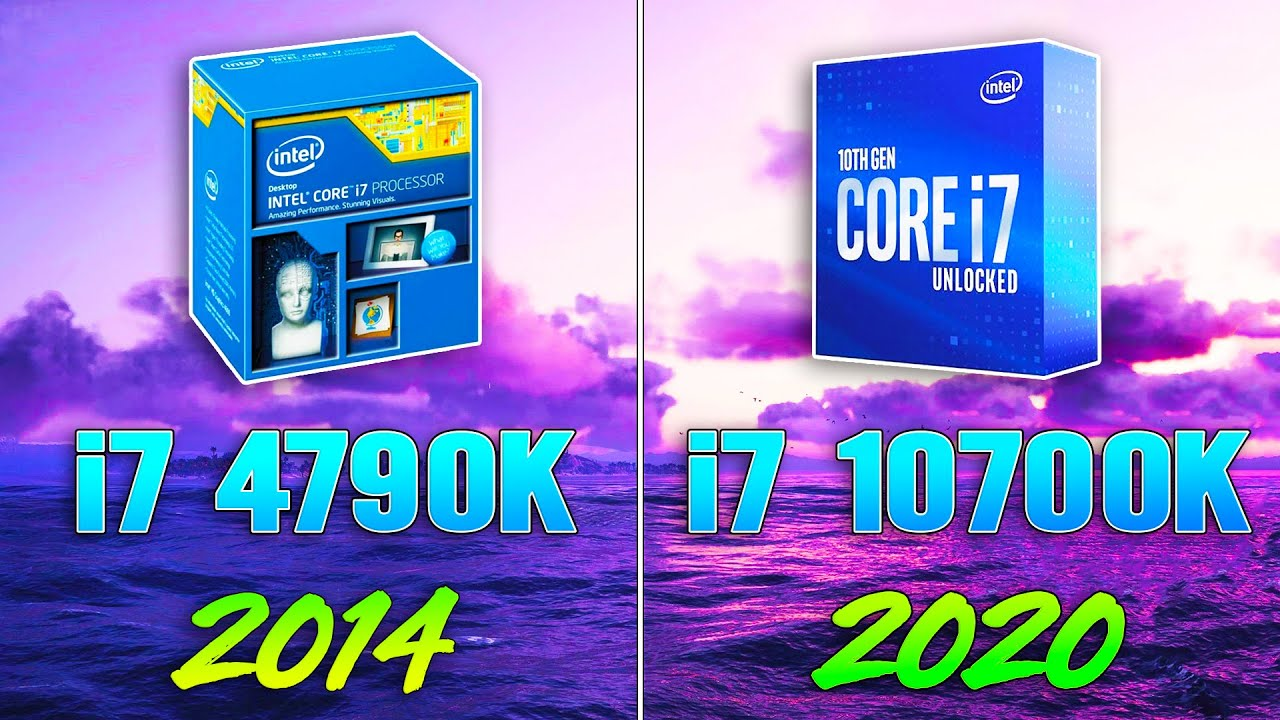 i7 4790K vs i7 10700K - How Big is the Difference?