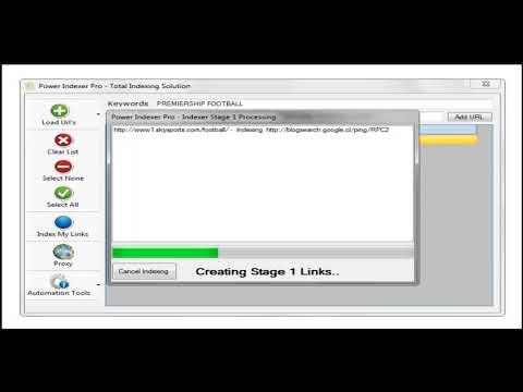 Software Download: Power Indexer Pro