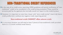 Can I Qualify for a USDA Loan with No Credit Scores?