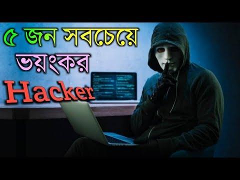 দেখুন দুনিয়া কাঁপানো কুখ্যাত ভয়ংকর ৫ হ্যাকার | 5 Most Dangerous Hackers of All Time [Bangla]