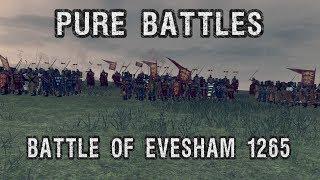Pure battle, battle of Evesham, 1265 AD