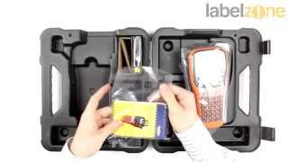Brother PT-E100 Industrial Handheld Label Printer - Unboxing and features