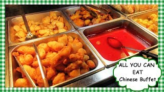 HUGE All You Can Eat CHINESE Buffet ~ See All the Chinese Buffet Food!