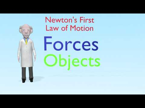 Professor Mac Explains Newton's First Law of Motion