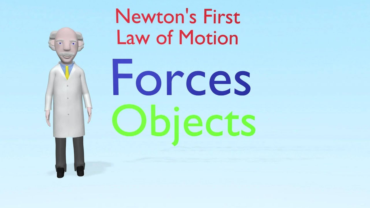 Sir Isaac Newton 1st Law Of Motion
