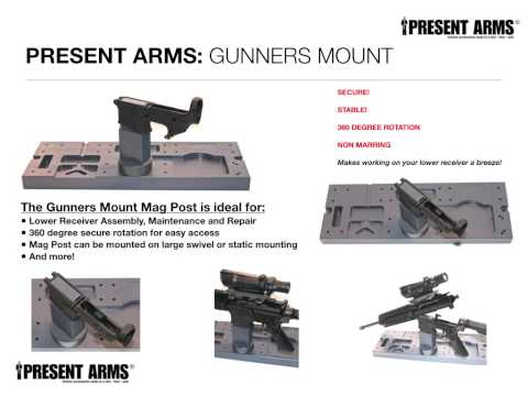 Present Arms  Gunners Mount