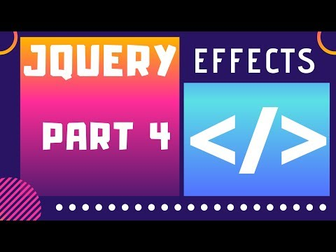 JQuery Tutorial in Hindi | Part 4 | Fade and Slide Effects | Code House thumbnail