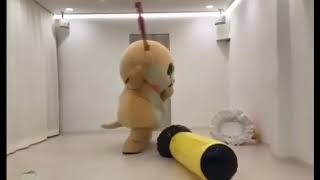 Boneka lucu marah-marah viral