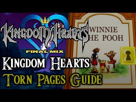 Kingdom Hearts 1.5 HD Final Mix- Torn Pages Guide