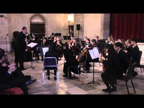 Paly Band Orchestra Heritage Music Festival NYC 3-18-16