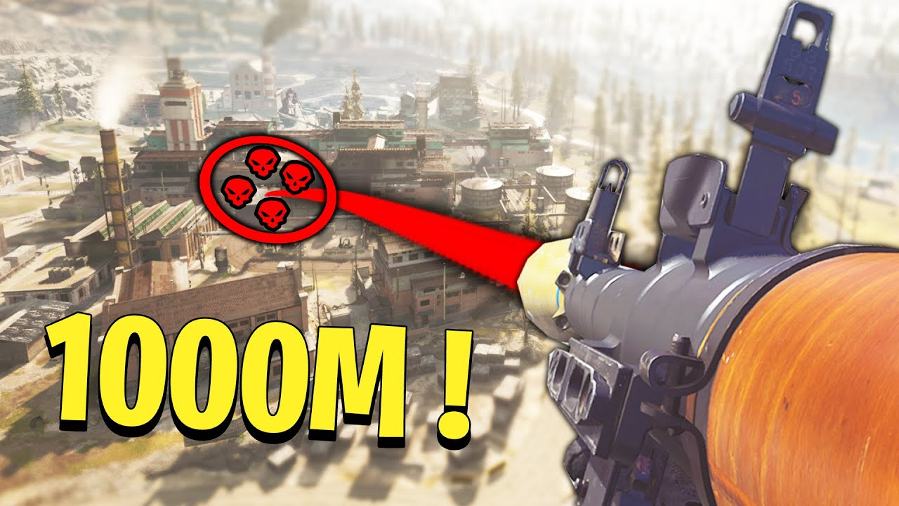 WARZONE: LONGEST ROCKET SNIPES EVER! (1087M Team Wipe) - Warzone Luckiest Moments & Rare Plays #3