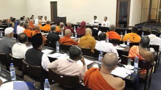 Ahmadiyya Muslim Community Sri Lanka in parliament visit