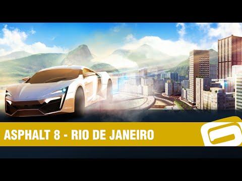 Asphalt 8: Airborne - Rio de Janeiro