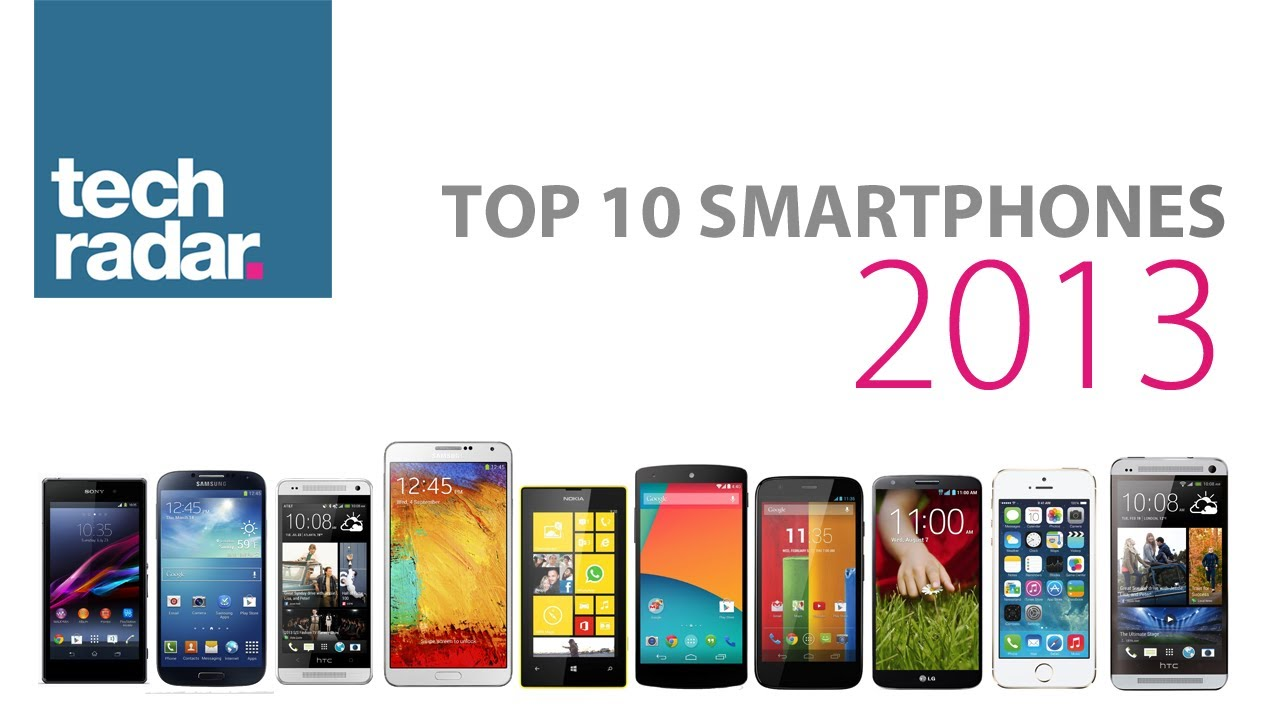 Best Smartphone 2013 Top 10 ranking YouTube