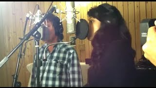 Jennifer Hudson and John Fogerty Record