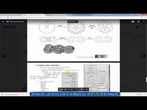 3Dsmax  Spline toàn tập - học 3d online 3dclass.net MrHoang 0907707728