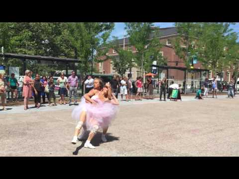 Doppelgänger Dance Collective Kennedy Plaza Providence Rhode Island 08/09/16