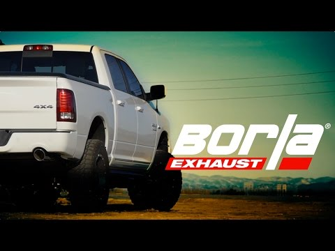 Borla Exhaust For 2009-2018/2019 Classic Ram 1500 Trucks