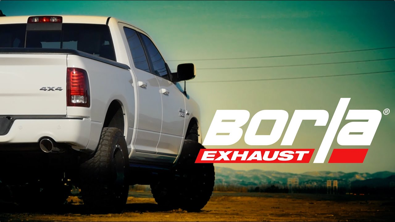 Borla Exhaust For 2009 2018 Ram 1500 Trucks Youtube