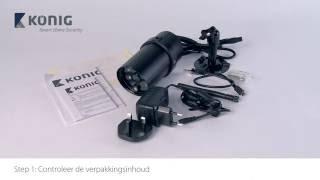 SAS-CLALIPC20 - 720p Wi-Fi buitencamera bedrade installatie - DUT