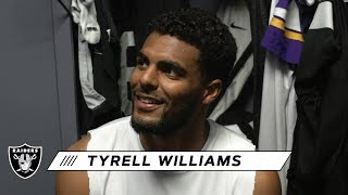 Tyrell Williams Looking Forward to Playing His Former Team | Raiders