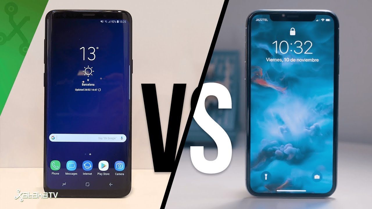 samsung vs iphone samsung galaxy s9 s9 vs iphone x vuelve la gran batalla 1823