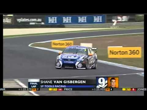 V8 2011 Event 9 (Phillip Island) Qualifying Race 2 Highlights