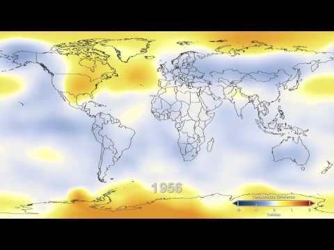 hqdefault - Un réchauffement différentiel du xx ème siècle ?