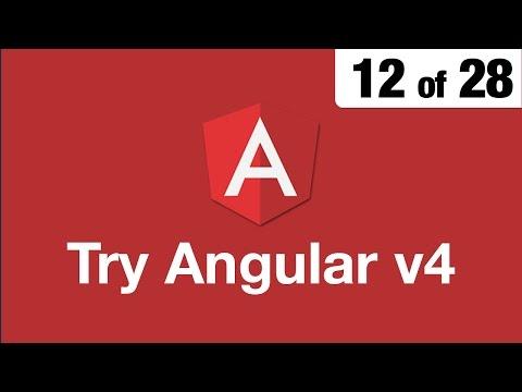 Try Angular v4 // 12 of 28 // Bootstrap for Angular // ngx bootstrap thumbnail