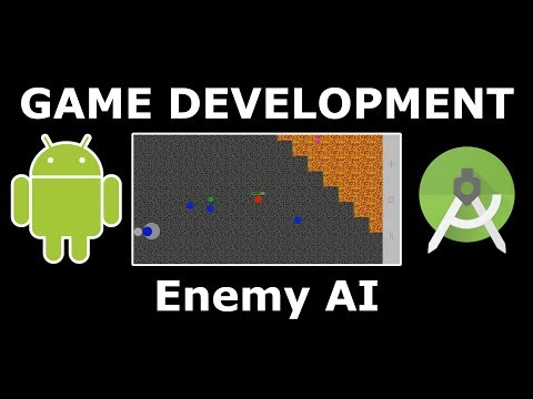 Ep. 06 - Enemy AI And Class Packaging | Android Studio 2D Game Development