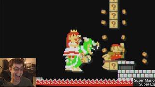 Mario Maker - Starred The Drunk's Level | Super Expert #3 thumbnail