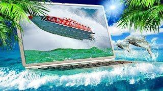 Выставка яхт в Майами | кругосветное путешествие современные