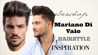Mariano Di Vaio Hairstyle Inspiration Men S Hair Tutorial 2017 Youtube