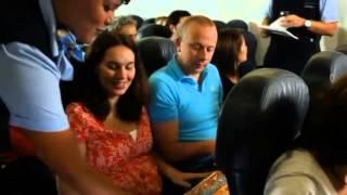 """Eerste passagiersvlucht vanuit Nederland met Boeing 787 """"Dreamliner"""" naar Curacao"""