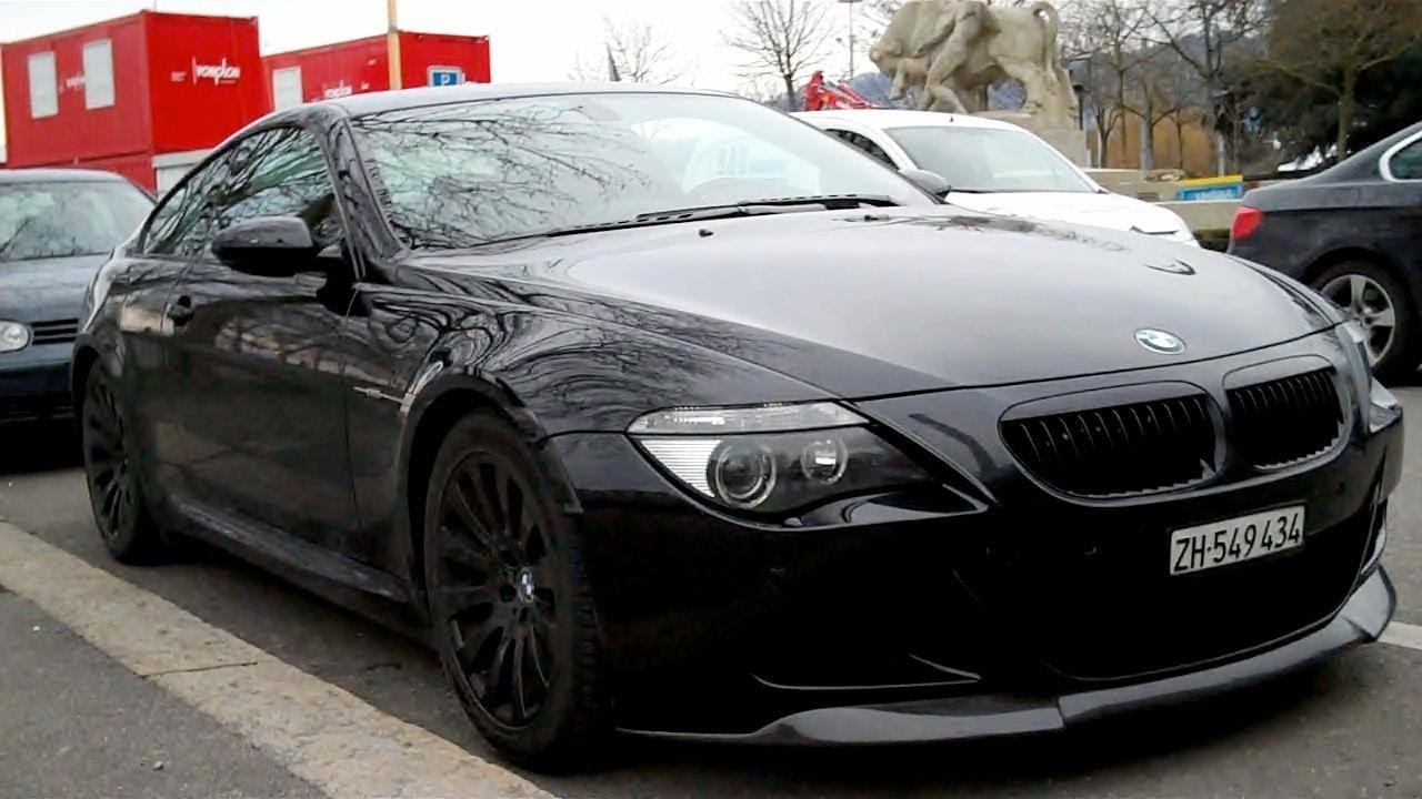 Blacked Out Bmw M6 Parked Walkaround In Zurich Switzerland Youtube