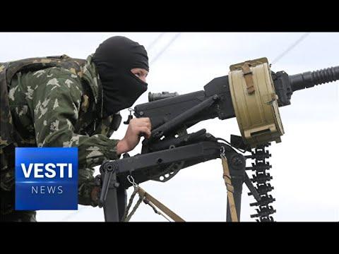 Terror Attack in Donetsk - Ukrainian Special Services Lob RPG at DPR Defense Ministry