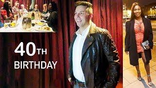 Tom's 40th Surprise Birthday *emotional*
