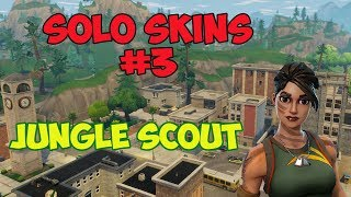 Solo Skins #3 Jungle Scout Solo Win! INSANE IMPULSE KILLS! (Fortnite Battle Royale) @zDubbed