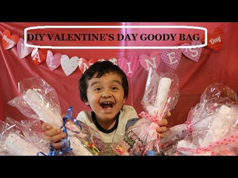 Diy Valentine S Day Goody Bag Ideas Youtube
