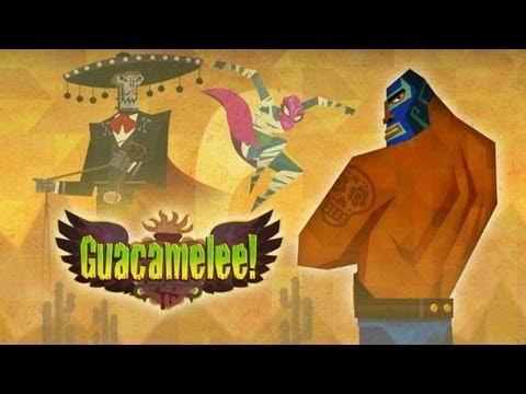Let's Play Guacamelee! Gold Edition - Part 1 - Becoming a Luchadore |