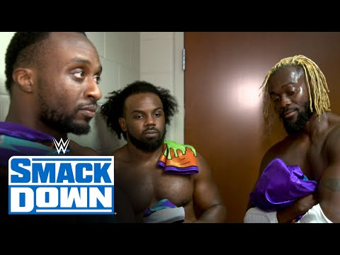 The New Day share emotional moment after SmackDown farewell: SmackDown Exclusive, Oct. 16, 2020