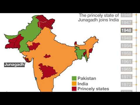 How India Pakistan Bangladesh were formed from the Subcontinent