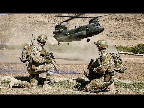Australian Soldiers and US Marines Intense Military Combat T
