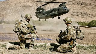Australian Soldiers and US Marines Intense Military Combat Training