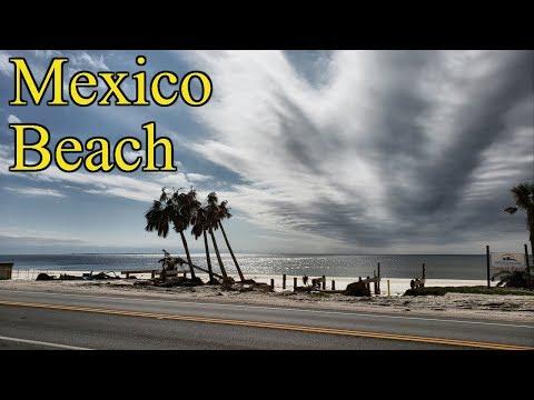 Mexico beach florida right now