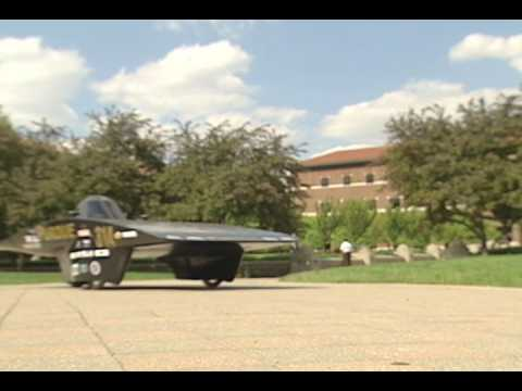 Purdue student team wins solar-car division at 'Eco-Marathon'