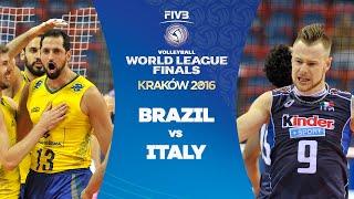 FIVB - World League - Final Round : Brazil v Italy