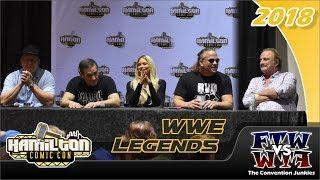 WWE: Rob Van Dam, Barbie Blank, Jake the Snake, Brooklyn Brawler, Cowboy Bob - Hamilton Comic Con