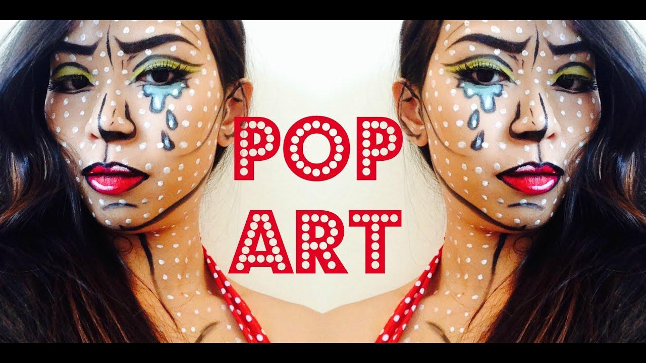 Wonder Women Pop Art Makeup