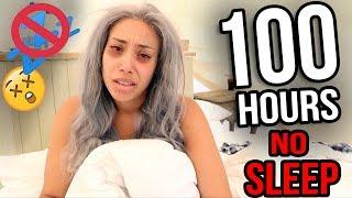 100 HOURS WITH NO SLEEP 🚫😴 **EXTREME CHALLENGE**